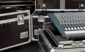 professional audio and video mobile rentals on site