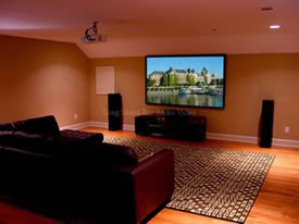 residential home theater installations on long island